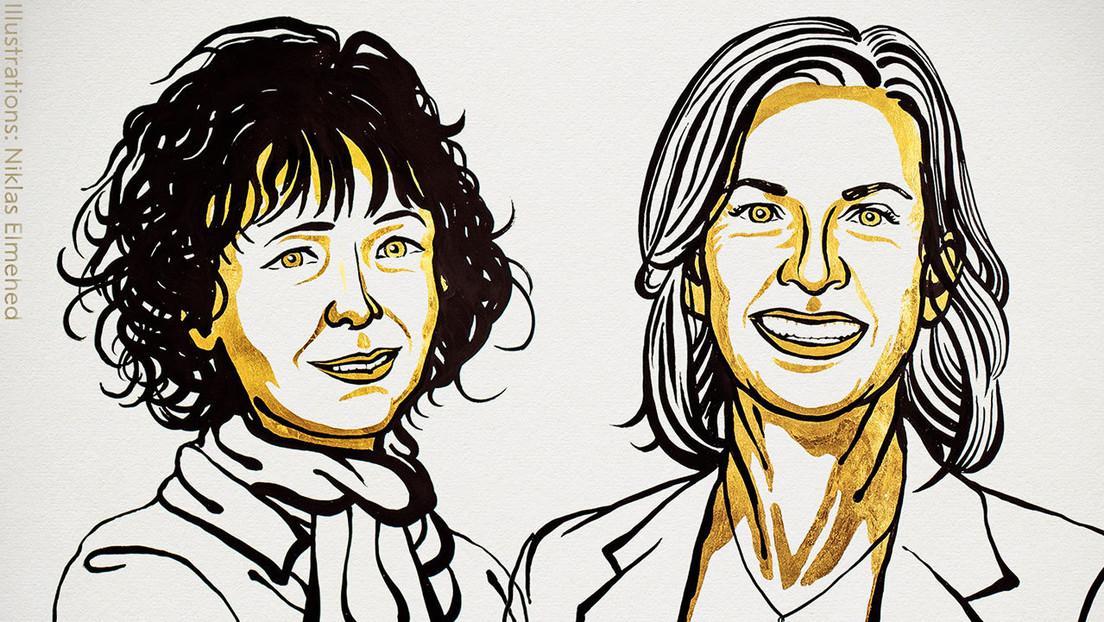 Otorgan el Premio Nobel de Química a las desarrolladoras de un método de edición del genoma