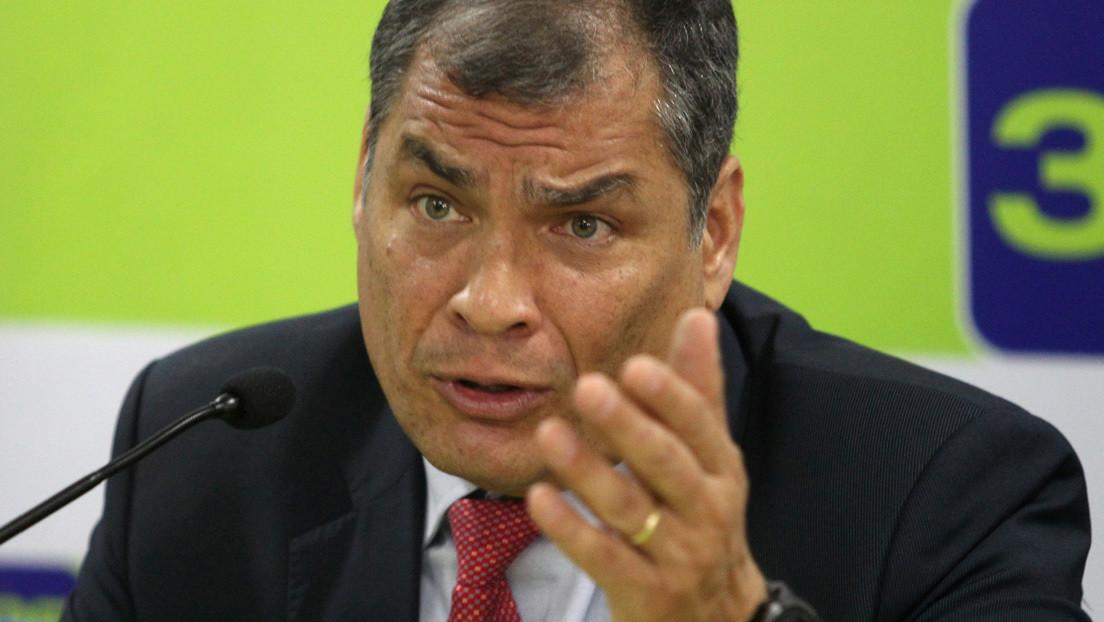 La Justicia ecuatoriana pide activar las alertas rojas de Interpol para detener a Correa y otros sentenciados del caso 'Sobornos'