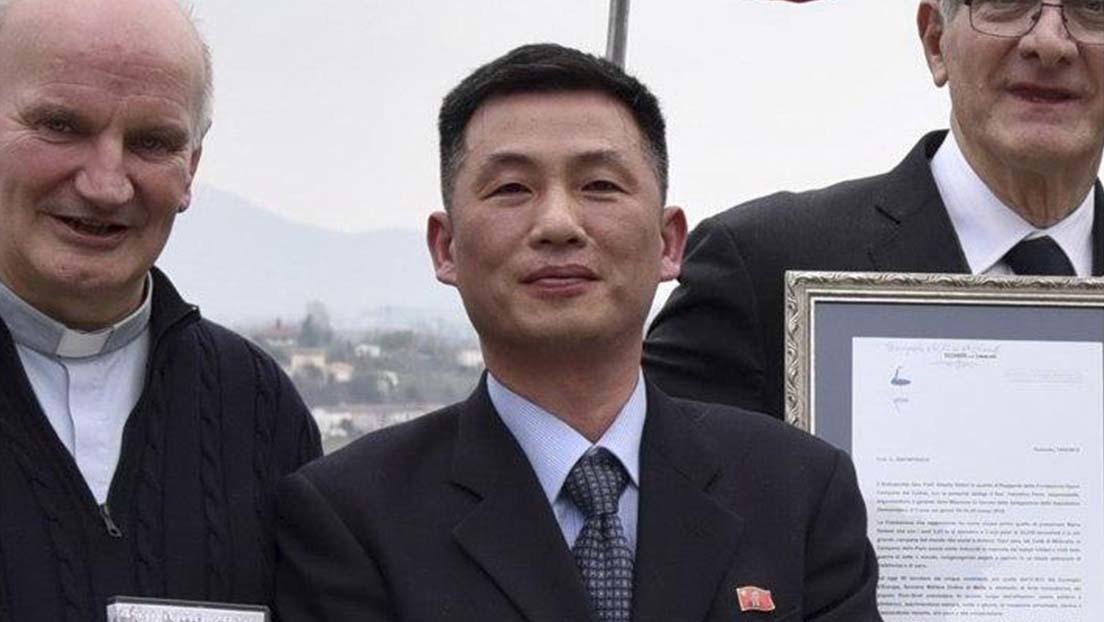Diplomático norcoreano desaparecido en Italia en 2018 se refugió en Corea del Sur