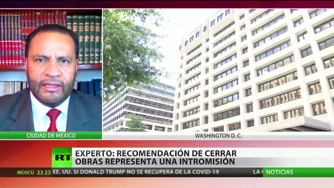 """Experto: """"La recomendación del FMI de cerrar las obras en una refinería en México representa una intromisión"""""""