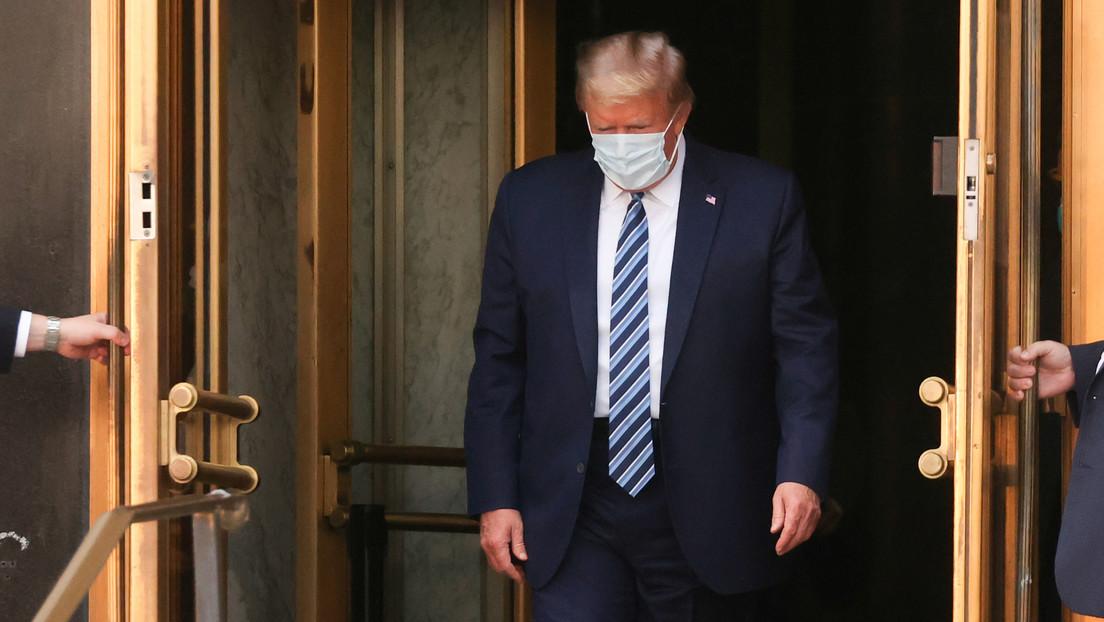 """Trump califica como una """"bendición de Dios"""" haber contraído covid-19"""