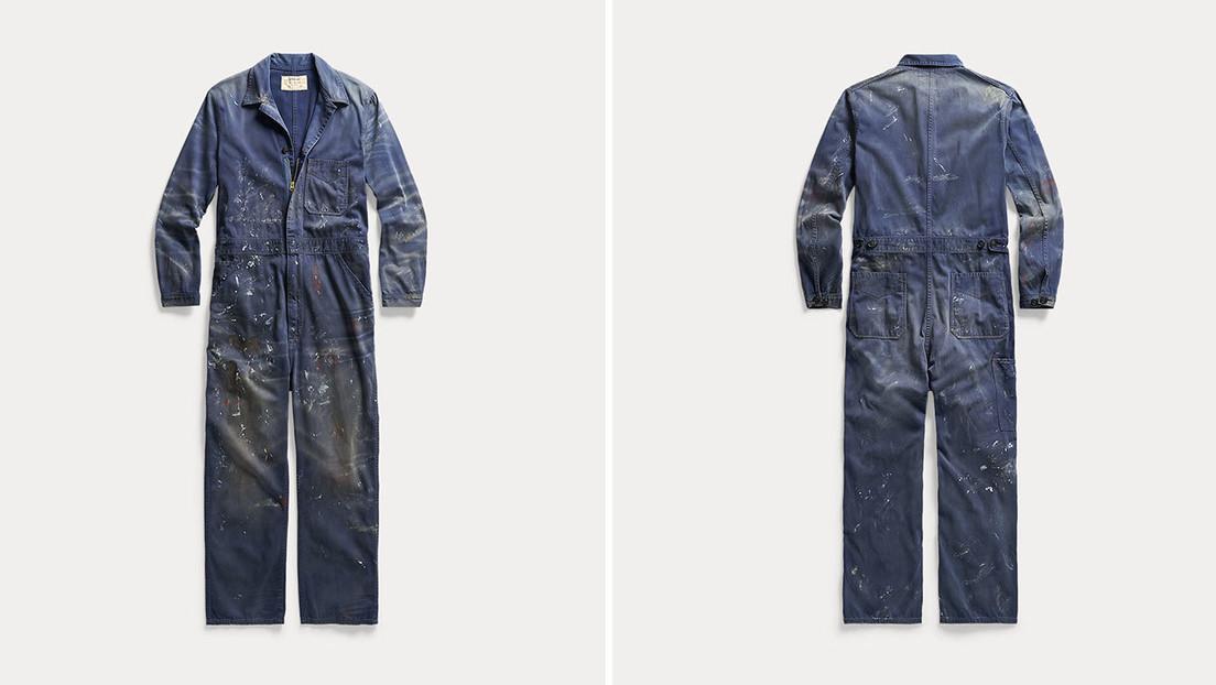 Ralph Lauren saca a la venta un overol de trabajo manchado de pintura por 695 dólares