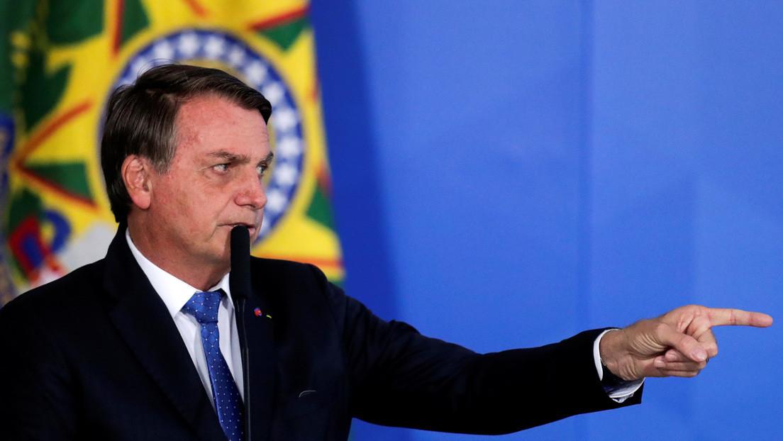"""Bolsonaro da por finalizada la operación 'Lava Jato' porque ya """"no hay más corrupción"""" bajo su mandato"""