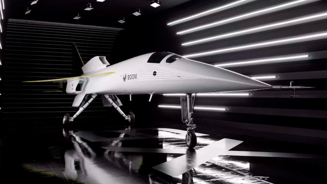 Boom Supersonic presenta su prototipo de aeronave supersónica comercial, capaz de ir de Londres a Nueva York en 3,5 horas