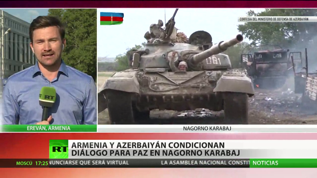 Fuego sin cesar: Ereván y Bakú se acusan de intensificar bombardeos en Nagorno Karabaj