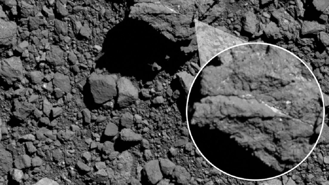 Encuentran abundancia de elementos esenciales para la vida en el asteroide Bennu