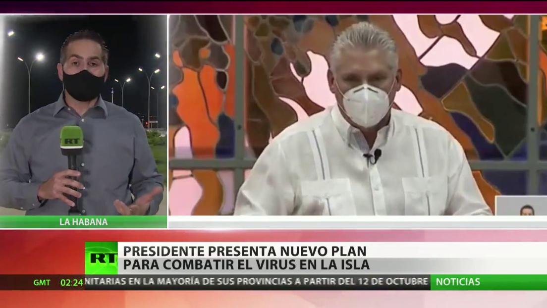Díaz-Canel presenta un nuevo plan para combatir el coronavirus en Cuba