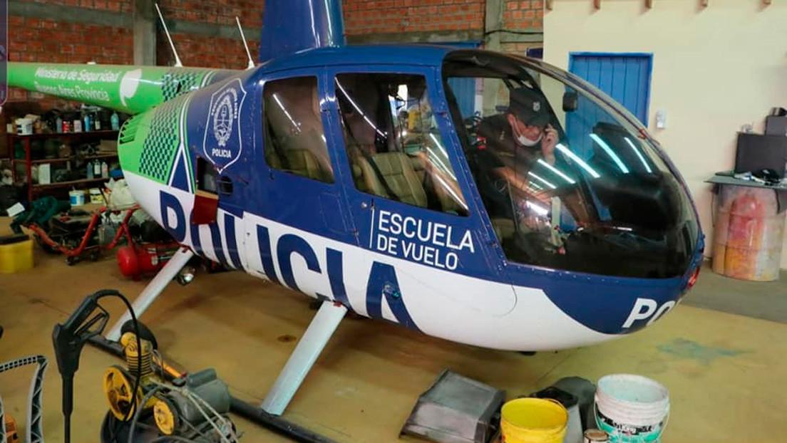 El misterioso hallazgo de un helicóptero de la Policía de Buenos Aires en un operativo antinarco en Paraguay