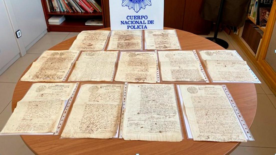 Recuperan en España 28 manuscritos del Virreinato del Perú que estaban a la venta en una plataforma de subastas