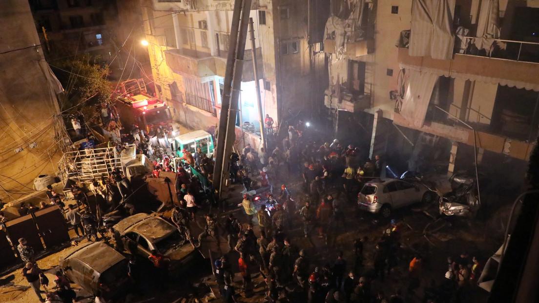 Al menos cuatro muertos y decenas de heridos al explotar un tanque de diésel en Beirut (VIDEO)