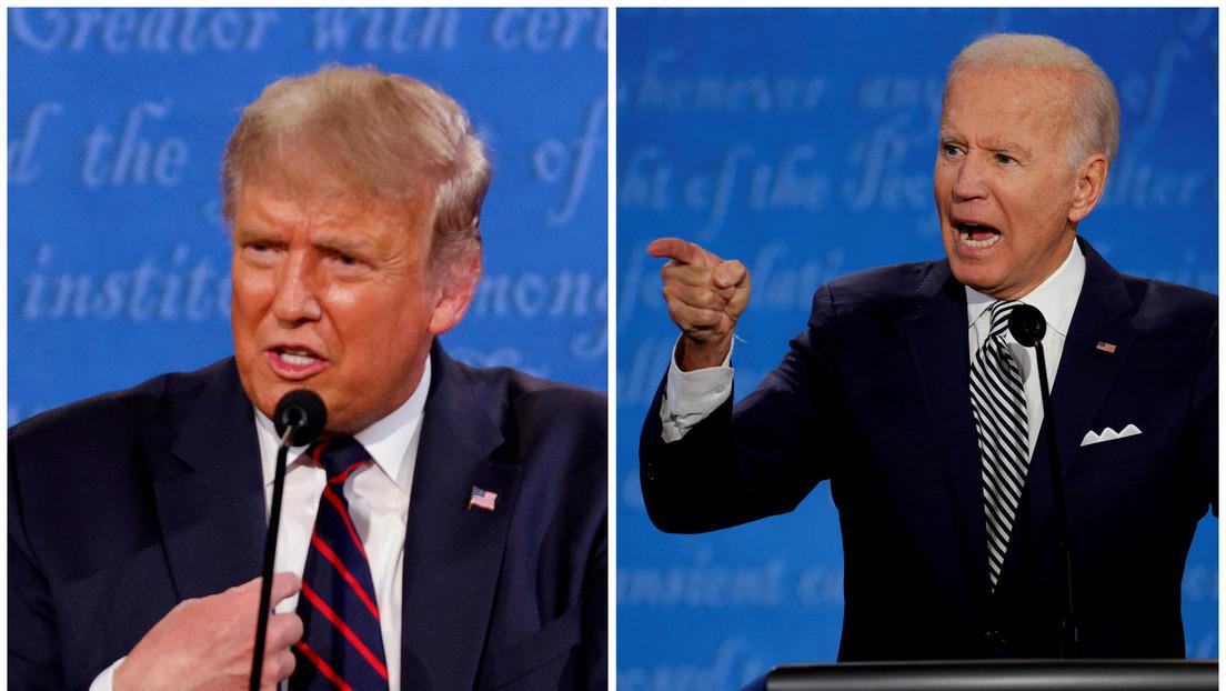 Cancelan el segundo debate presidencial entre Trump y Biden, planeado para el 15 de octubre