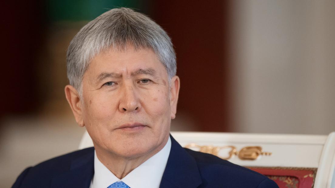 Fuerzas especiales detienen al expresidente de Kirguistán, Almazbek Atambáyev, recién liberado por manifestantes