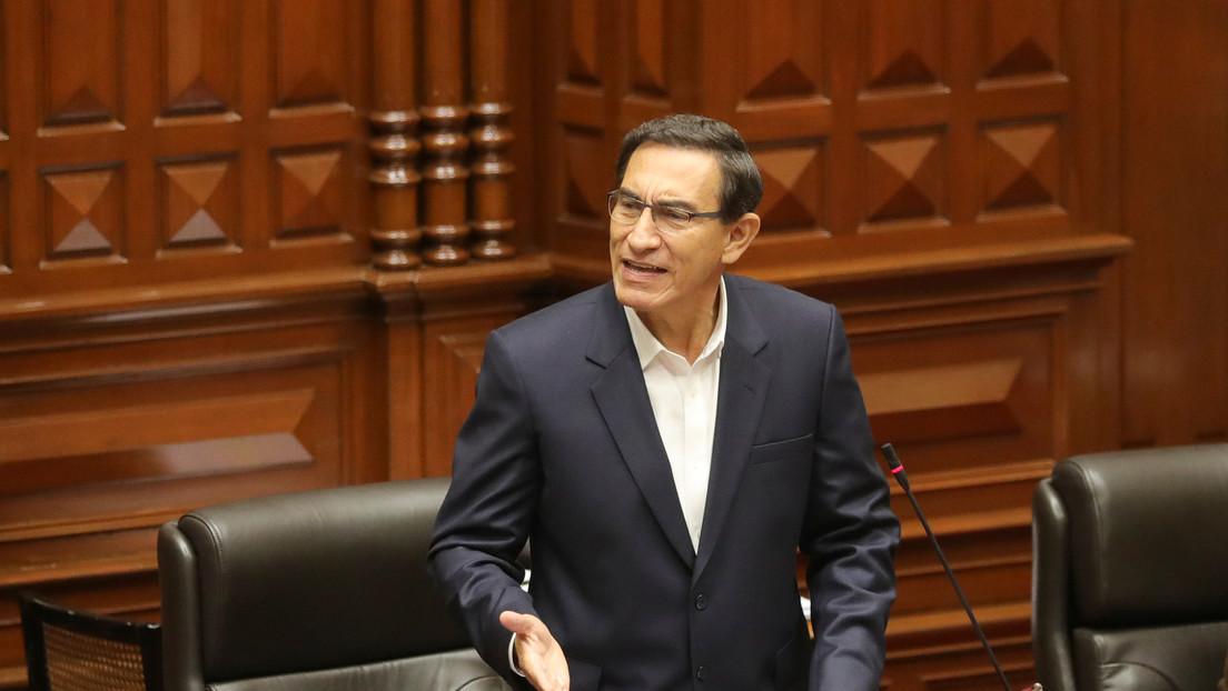 Fiscalía peruana abrirá investigación contra el presidente Martín Vizcarra cuando acabe su mandato