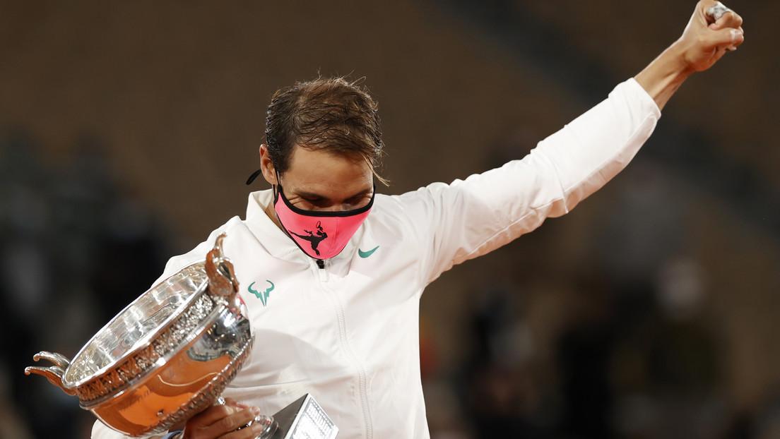 Rafael Nadal vence a Novak Djokovic en la final de Roland Garros e iguala a Roger Federer con 20 títulos de Grand Slam