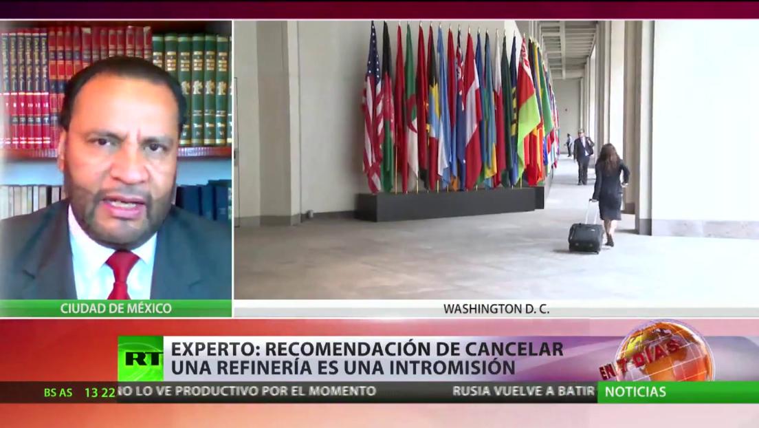"""Analista califica de """"intromisión"""" las recomendaciones del FMI a México de posponer la construcción de una refinería"""
