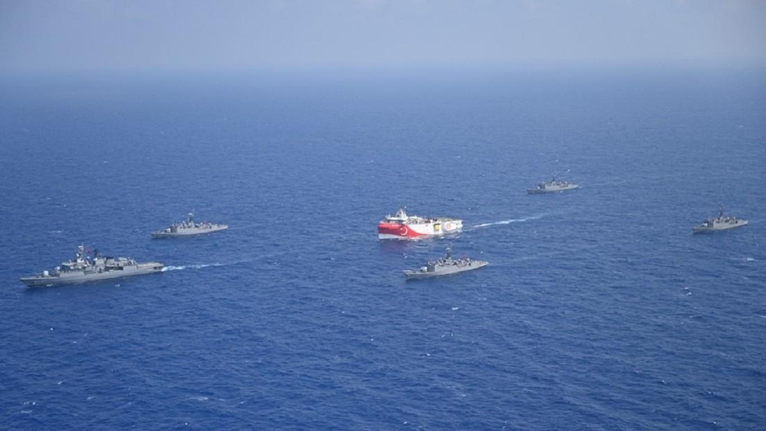 Turquía enviará un buque al Mediterráneo oriental  para realizar un estudio sísmico