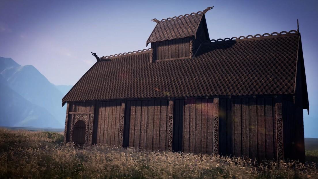 FOTOS: Hallan por primera vez en Noruega y reconstruyen en 3D un templo pagano de hace más de 1.200 años