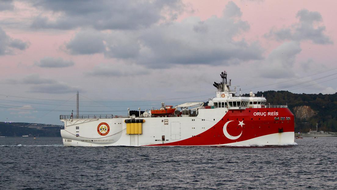 """Grecia tilda de """"amenaza directa a la paz regional"""" el envío de un barco turco de investigación al Mediterráneo Oriental"""