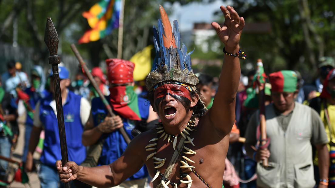 Garantías para los pueblos originarios: la minga indígena se dirige a Bogotá para exigir una reunión con Duque