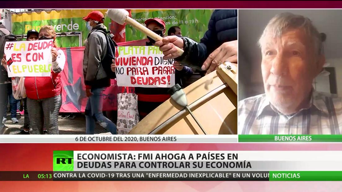 Economista: FMI ahoga a países en deudas para controlar su economía