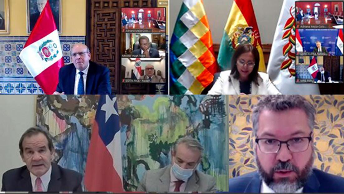 """Grupo de Lima expresa """"fuerte rechazo"""" a las elecciones parlamentarias en Venezuela y """"renueva"""" su respaldo a Guaidó"""