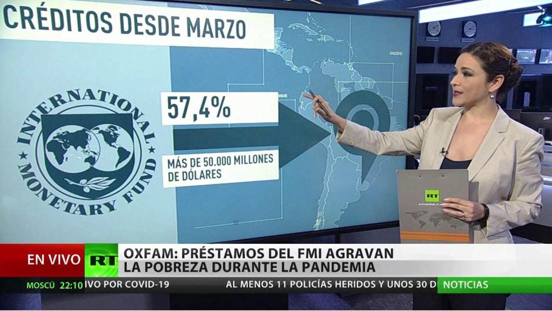 Oxfam: Los préstamos del FMI agravan la pobreza durante la pandemia