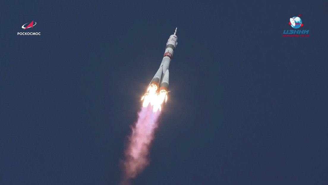 VIDEO: Cosmonautas rusos y una astronauta de EE.UU. parten a la EEI en un vuelo de 3 horas a bordo de la Soyuz MS-17