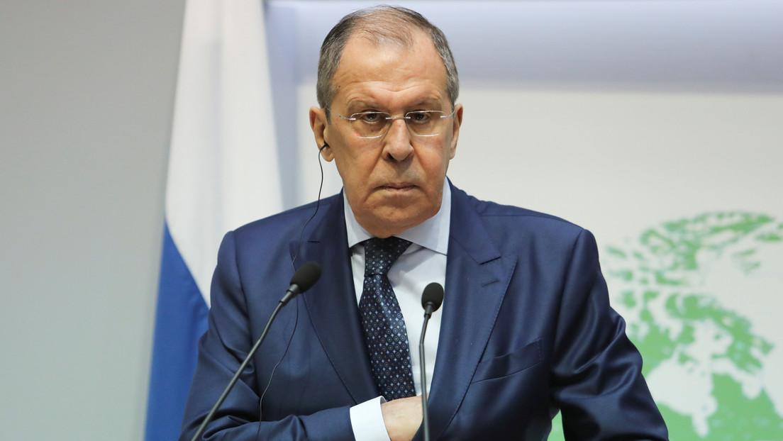 """Lavrov: """"Occidente a menudo se considera por encima de la ley y se cree superior a Rusia"""""""