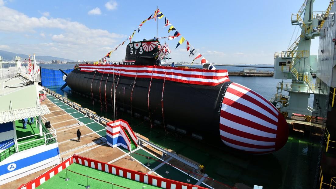 FOTOS: Japón presenta 'Ballena grande', su nuevo submarino de 3.000 toneladas