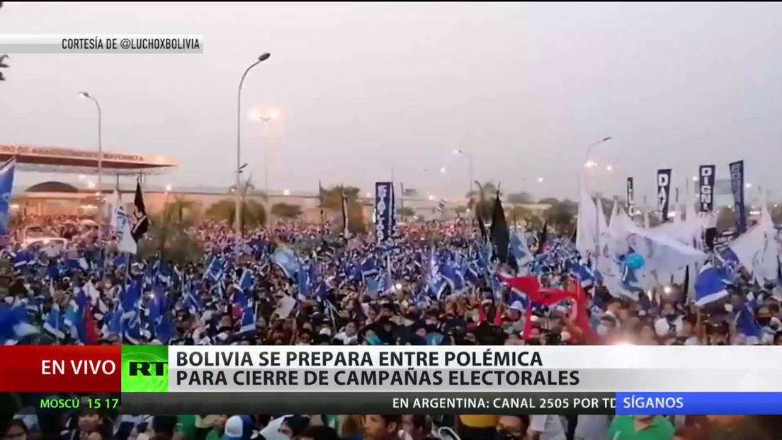 Bolivia se prepara para el cierre de campañas electorales