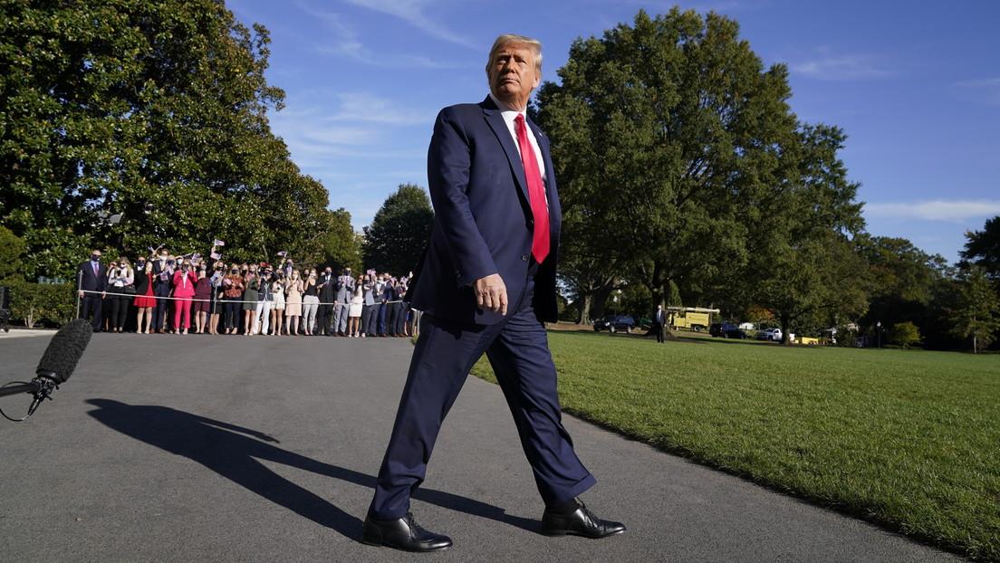 """Trump asegura que solo su Administración hará pagar a China por """"liberar el virus al mundo"""""""