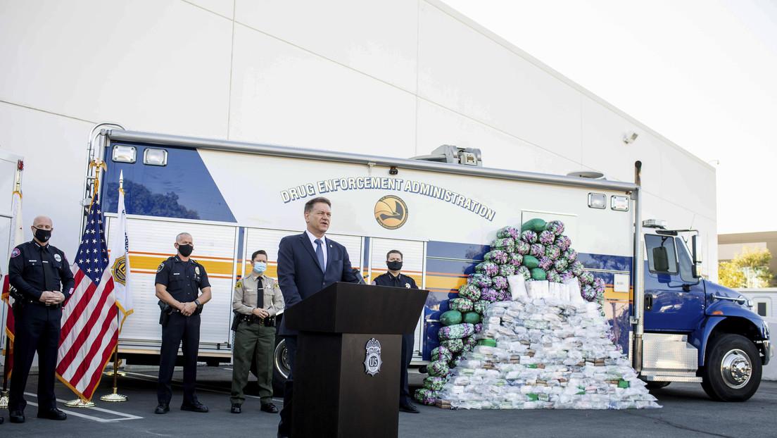 La DEA incauta al Cártel de Sinaloa la mayor cantidad de metanfetamina en toda su historia
