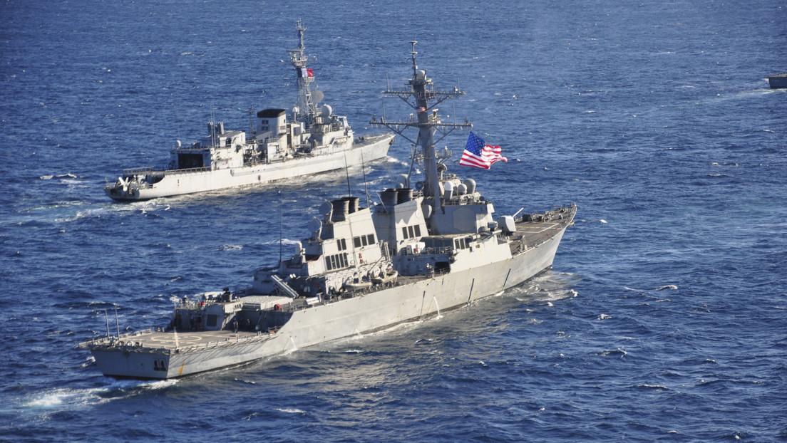 Un destructor de EE.UU. cruza el estrecho de Taiwán en plenas tensiones con China
