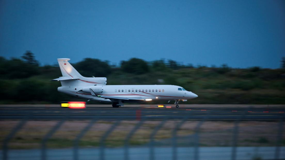 Una familia iraquí solicitante de asilo alquila un jet privado para llegar a Alemania