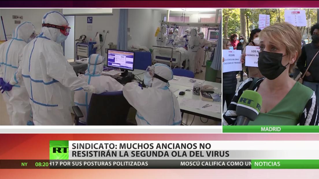 España: Sindicatos denuncian la falta de protección en las residencias de ancianos