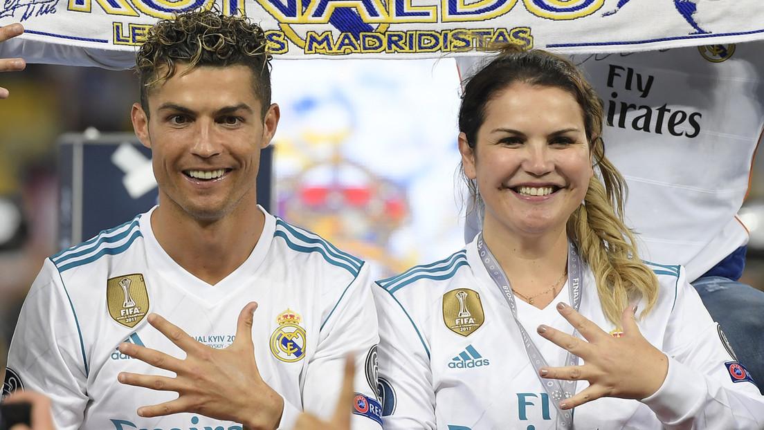"""""""El mayor fraude"""": El extraño mensaje de una hermana de Ronaldo sobre el positivo por covid-19 del futbolista"""
