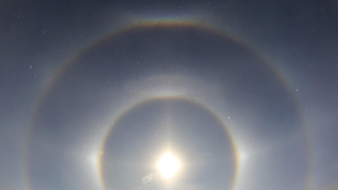Un inusual fenómeno de 'tres soles' ilumina el cielo de una ciudad china (VIDEO)