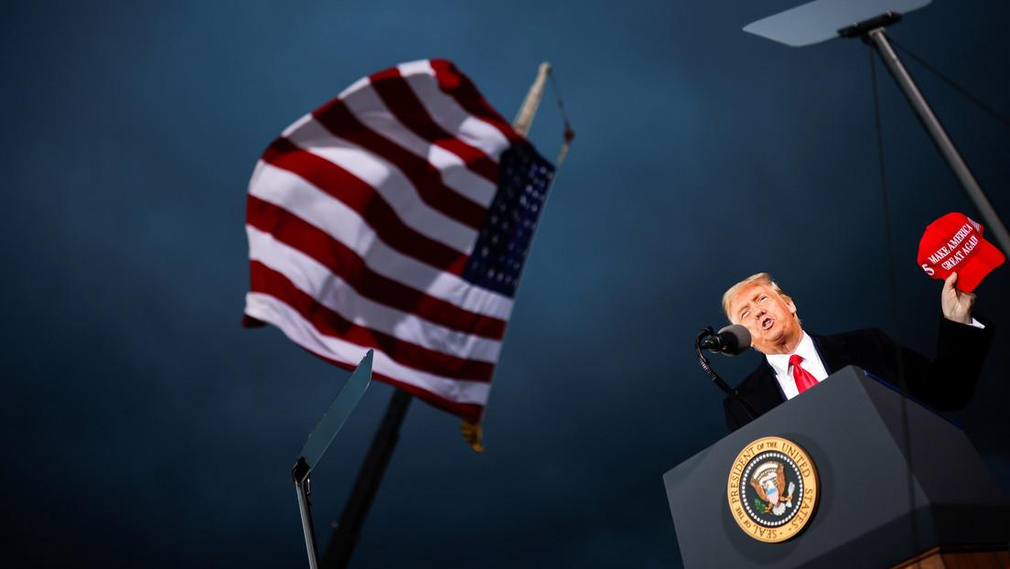 Trump asegura que aceptará una transición pacífica de poder en caso de una elección honesta