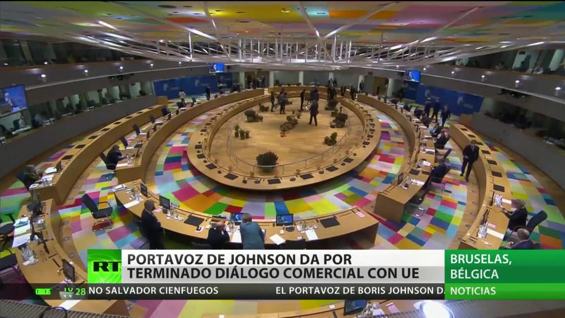 El portavoz de Boris Johnson da por terminadas las conversaciones comerciales con la UE