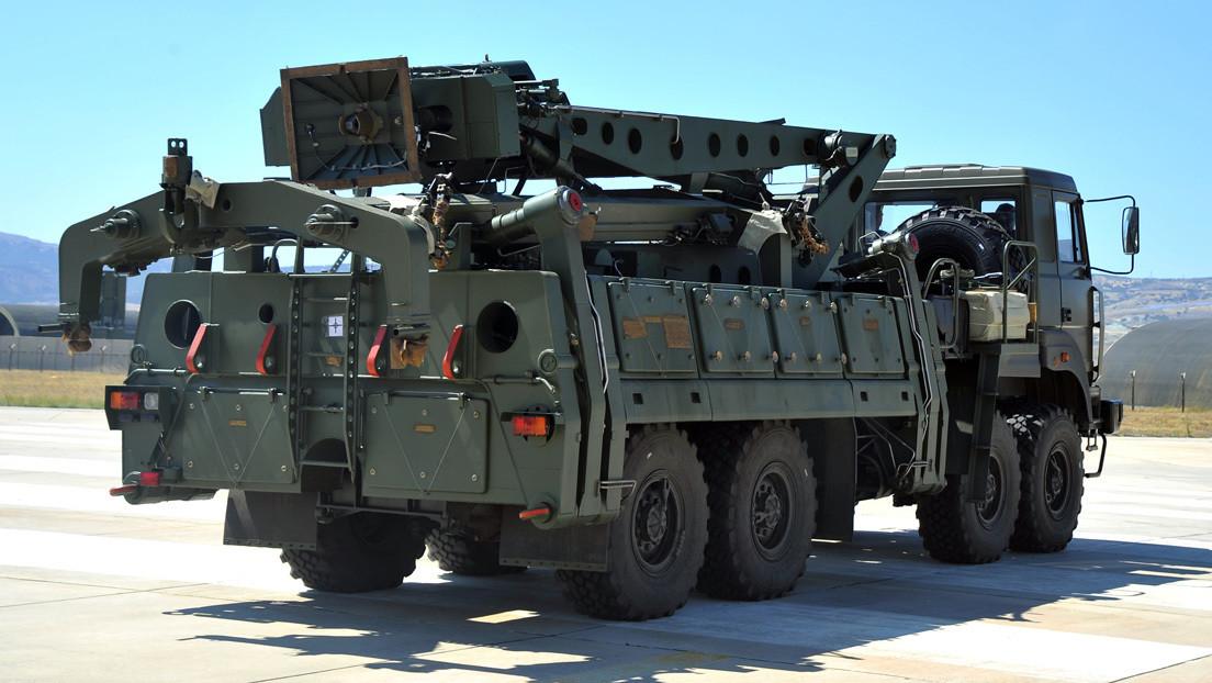 VIDEO: Turquía realiza un supuesto disparo de prueba por primera vez con el sistema ruso S-400