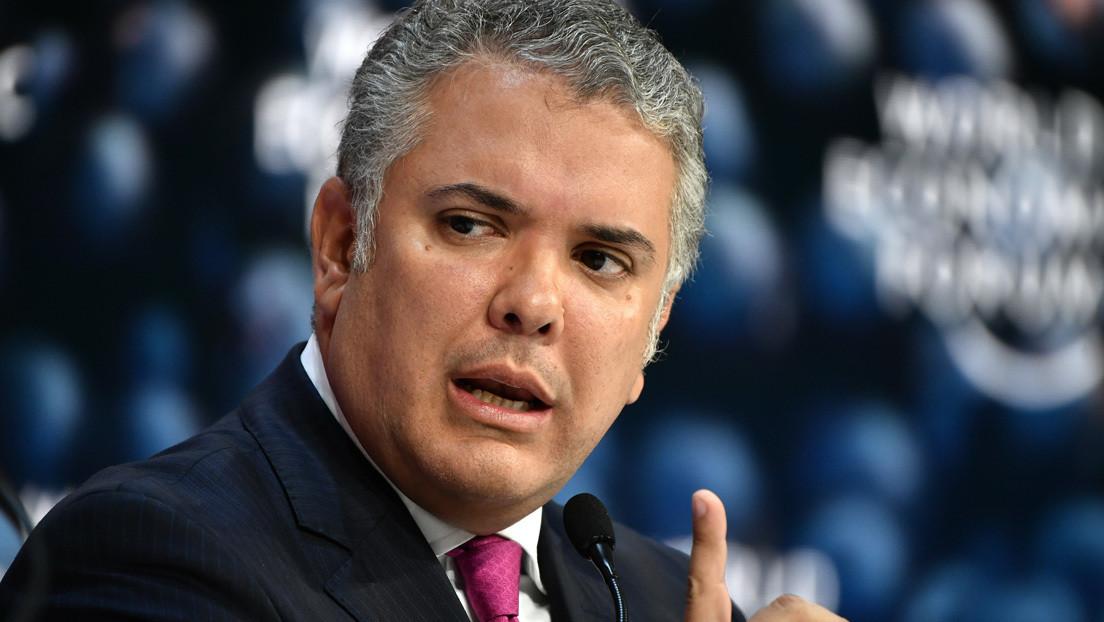 Justicia colombiana instruye orden de desacato contra Iván Duque