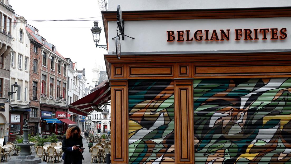 Bélgica decreta un toque de queda y cierra bares y restaurantes en todo el país durante un mes por el covid-19