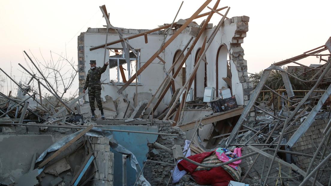 Azerbaiyán anuncia que un ataque armenio con proyectiles ha dejado 13 muertos en su segunda mayor ciudad