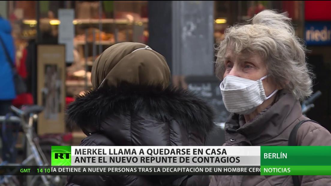 Récord de contagios por covid-19 en Alemania y protestas en Londres por el endurecimiento de las medidas