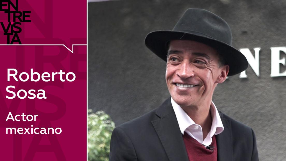 """Roberto Sosa, actor mexicano: """"El cine que me entretiene es el que puedo ver en dos partes haciendo una pausa cuando quiero"""""""