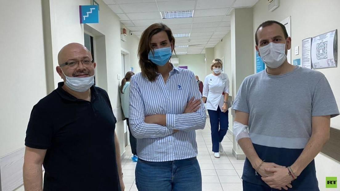 Empleados extranjeros de RT reciben una segunda inyección como parte de los ensayos de la vacuna rusa Sputnik V