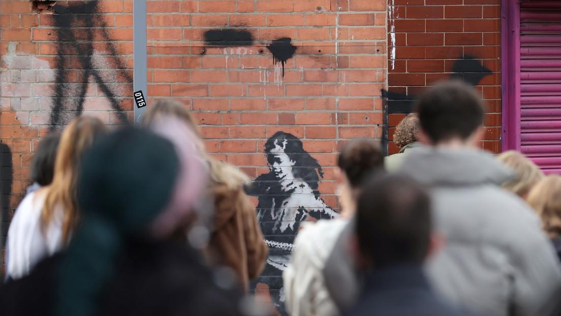 Banksy confirma la autoría de un nuevo grafiti