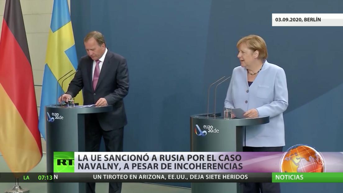 La Unión Europea sanciona a Rusia por el caso Navalny, a pesar de incoherencias
