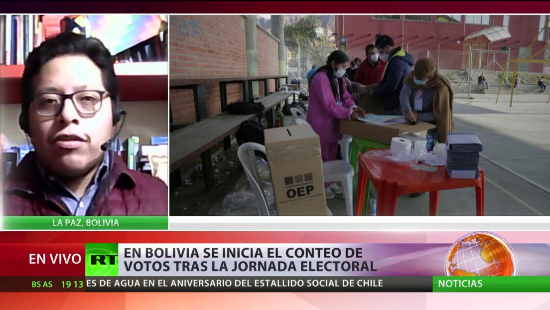 """Experto: Los observadores internacionales en Bolivia son """"la única garantía"""" de transparencia en las elecciones"""