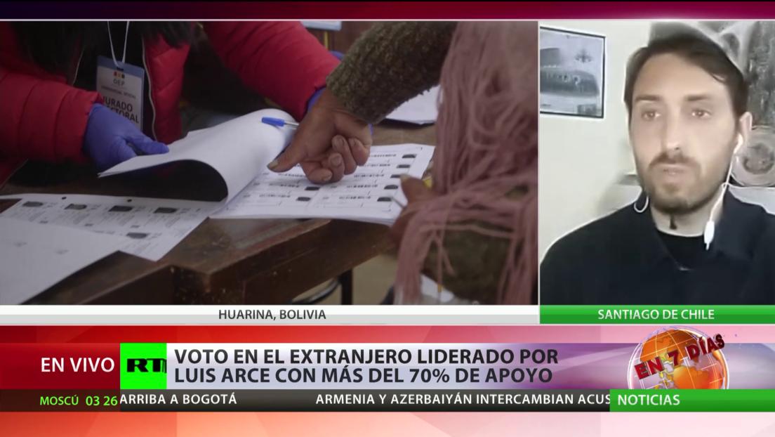 Experto: Todo indica que Luis Arce va a ganar, aunque es muy pronto para celebrar